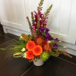 Tropical arrangement £35
