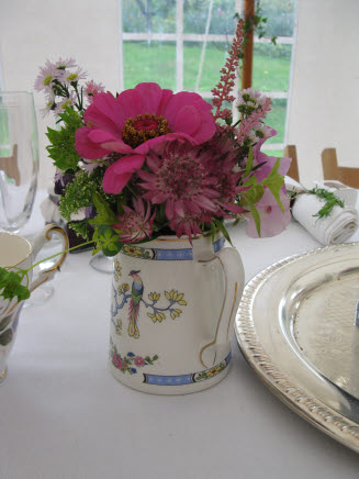 Vintage China and Garden Flowers