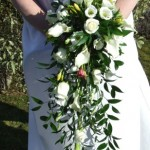 White Classic Shower Bouquet