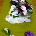 Calla and Rose Bouquets
