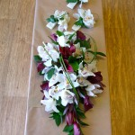Orchid and Leucodendron Shower Bouquet
