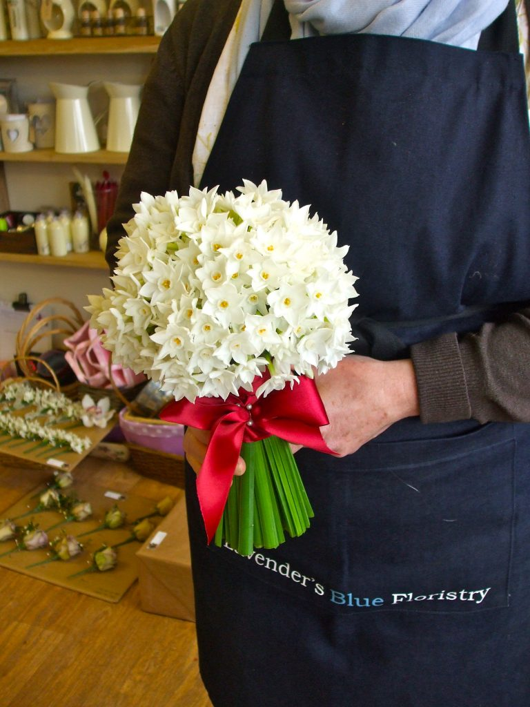 Paperwhite Hand Tied
