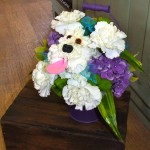 Dog in a Bucket!  Bridesmaid's Basket