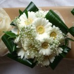 Gerbera and Gypsophila Bridesmaid's Posy