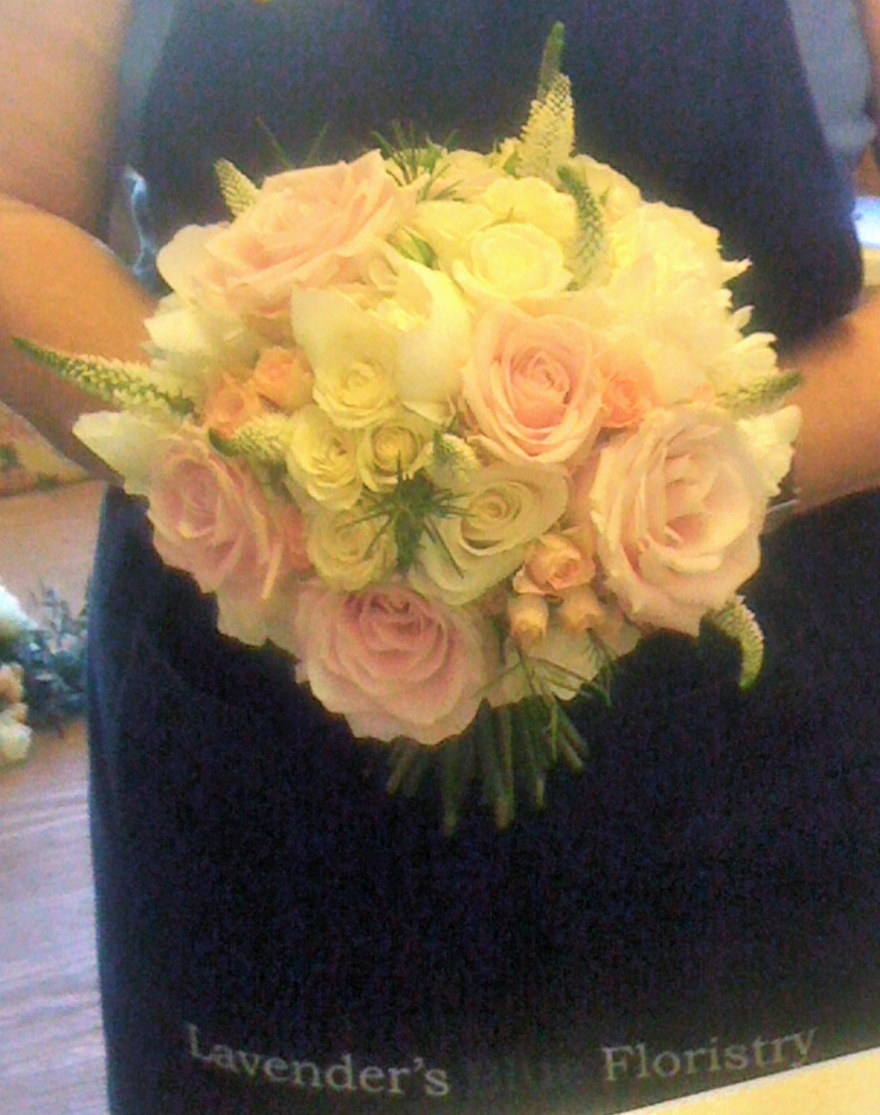 Pink and White Country Hand Tied2