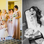 Vintage blush pink wedding