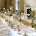 Wheat table centres