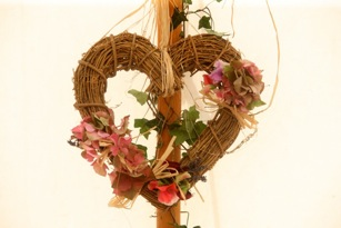 Rustic Heart Wall Decoration