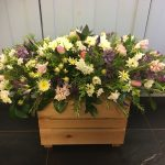 Spring Flower Casket Spray